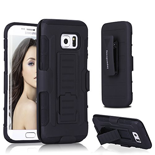 Samsung-S6-Edge-Plus-Case-ImpactStrong-BeltClip-Kickstand-Samsung-Galaxy-S6-Edge-Plus-Dual-Layer-Holster-Cover-wit-B016AXZZYG