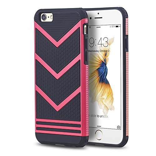 Variation-pinkchevrondesigniphone47-of-iPhone-6-6S-Slim-Chevron-Design-Anti-Slip-Cases-B01B9TL6DK-1043