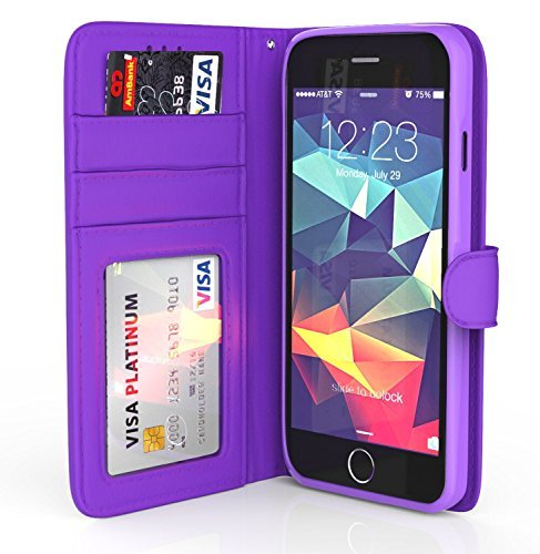 iPhone-6-Plus-Case-ImpactStrong-Leather-Wallet-Cover-Flip-Folio-Wallet-Card-Slot-Holder-Drop-Protection-Synthetic-L-B01DG8EE54